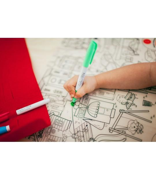 Prince Lionheart Colour & Draw mat