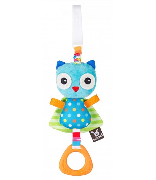 Benbat Travel Jitter Toy OWL
